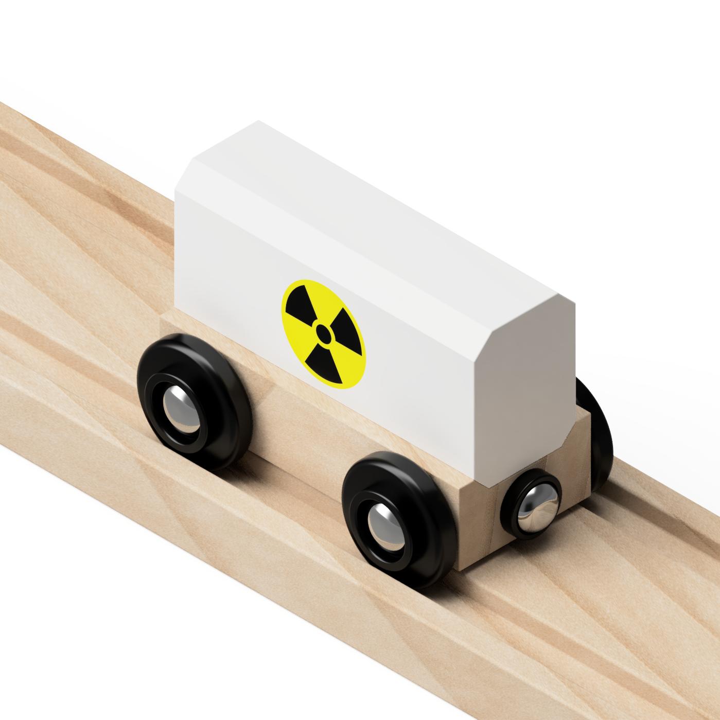 Nuclear Toy Train